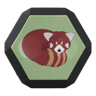 Red Panda Black Bluetooth Speaker
