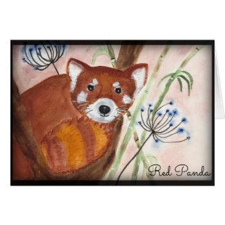 Red Panda Card