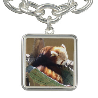 Red Panda Charm Bracelet