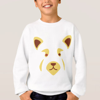 Red Panda Face Sweatshirt