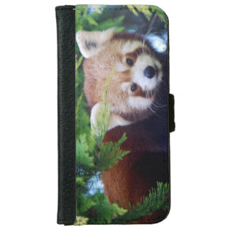 Red Panda iPhone 6 Wallet Case