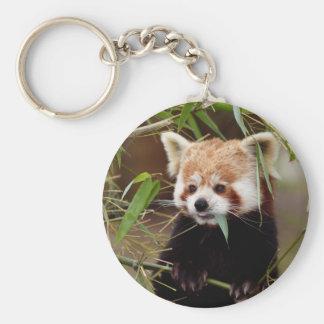 Red Panda Key Ring