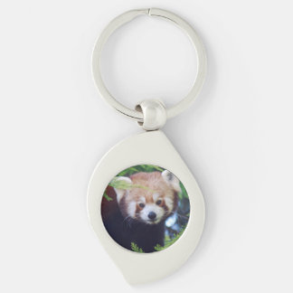 Red Panda Key Ring