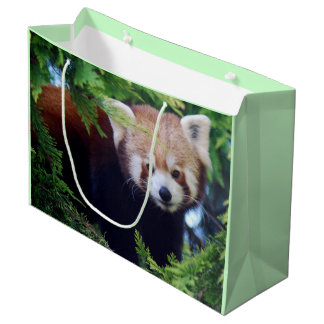 Red Panda Large Gift Bag