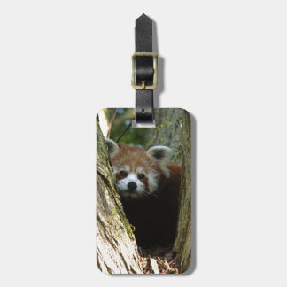 Red panda tag for bags