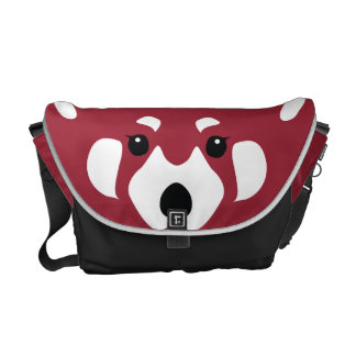 Red Panda Messenger Bag
