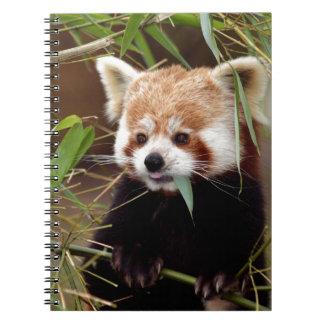 Red Panda Note Book