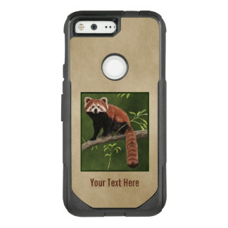 Red Panda OtterBox Commuter Google Pixel Case