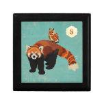 Red Panda & Owl Gift Box