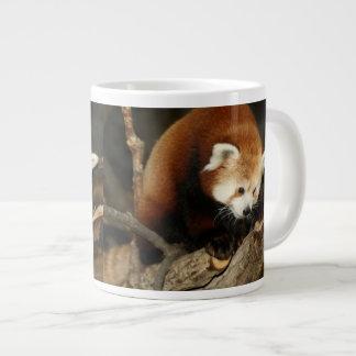 Red Panda Jumbo Mug