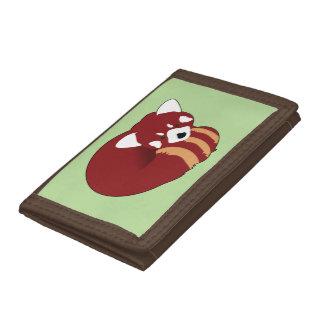 Red Panda Tri-fold Wallet