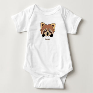 Red Panda WildCubz Baby Outfit Baby Bodysuit
