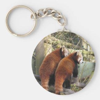 Red Pandas Keychain