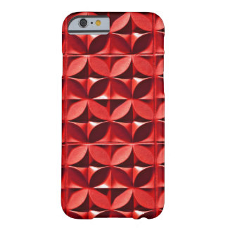 Red Panel Barely There iPhone 6 Case