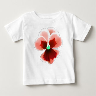 Red Pansy 201711b Baby T-Shirt