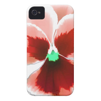 Red Pansy 201711b iPhone 4 Case-Mate Cases