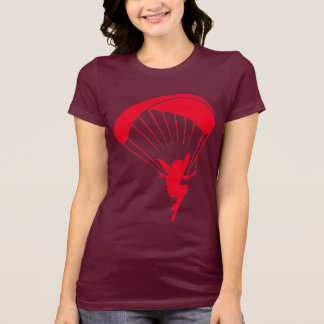 Red Paragliding Pixie T shirt