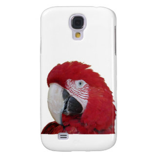 Red Parrot iPhone Case Samsung Galaxy S4 Covers