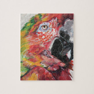 Red Parrot Jigsaw Puzzle
