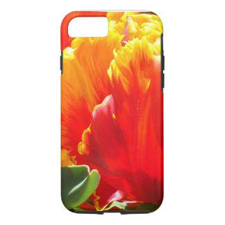 Red Parrot Tulip iPhone 7 Case