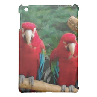 Red Parrots Cover For The iPad Mini