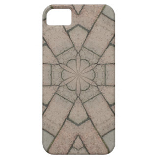 red pavers gardners kaleidescope abstract art barely there iPhone 5 case