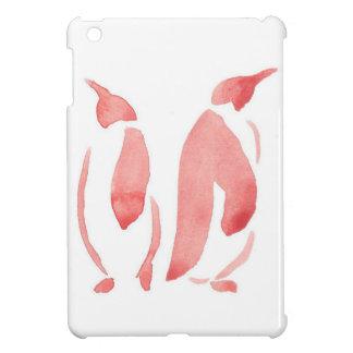 Red Penguin Pair iPad Mini Case