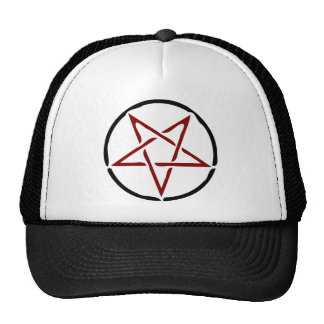 Red Pentagram Cap