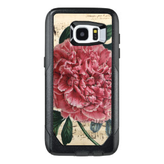 Red Peony Music OtterBox Samsung Galaxy S7 Edge Case
