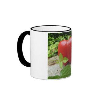 Red Pepper 2 Coffee Mugs