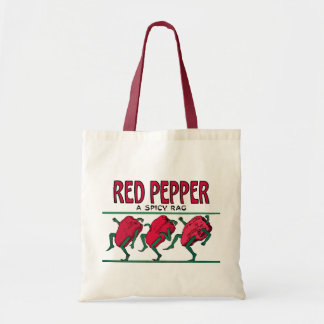 Red Pepper Rag Tote Bag