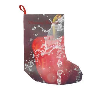 Red Pepper Splash Small Christmas Stocking