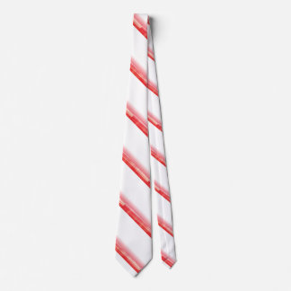 Red Peppermint Candy Cane Tie