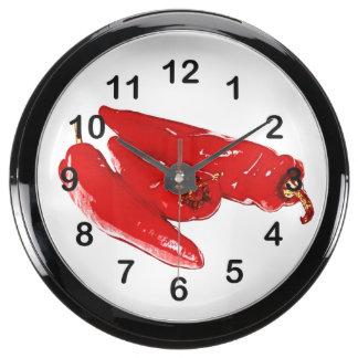 red peppers aquavista clock