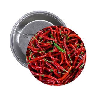 Red Peppers Pinback Button