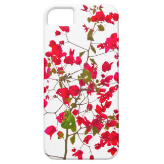 Red petals flowers iPhone 5 cover