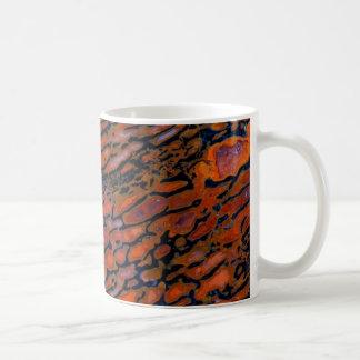 Red Petrified dinosaur bone Coffee Mug