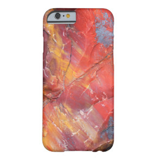 Red Petrified wood detail, Arizona Barely There iPhone 6 Case