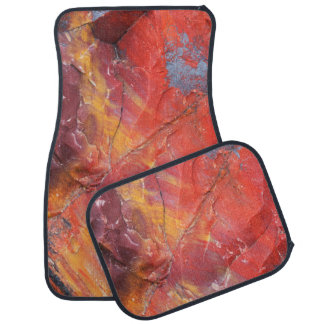 Red Petrified wood detail, Arizona Car Mat
