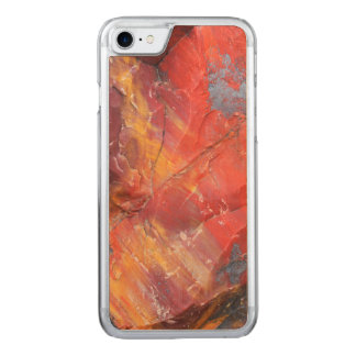 Red Petrified wood detail, Arizona Carved iPhone 8/7 Case