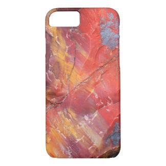 Red Petrified wood detail, Arizona iPhone 7 Case