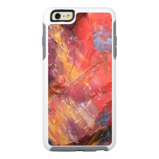 Red Petrified wood detail, Arizona OtterBox iPhone 6/6s Plus Case