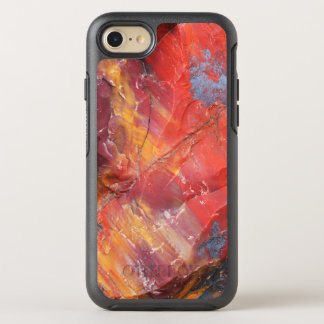 Red Petrified wood detail, Arizona OtterBox Symmetry iPhone 8/7 Case