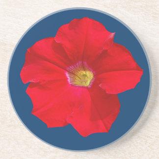 Red Petunia Coaster