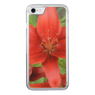 Red Petunias Carved iPhone 8/7 Case