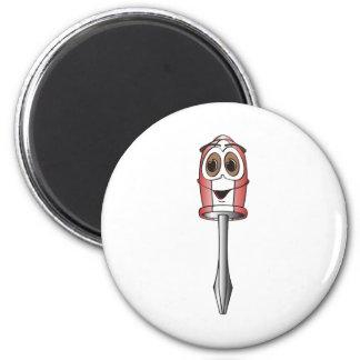 Red Phillips Screwdriver Fridge Magnets