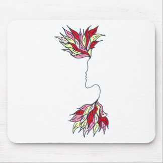 Red Phoenix Mouse Pad