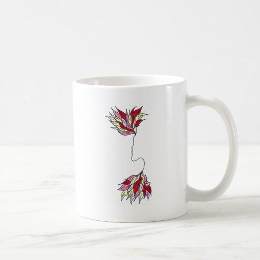 Red Phoenix Coffee Mugs