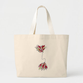 Red Phoenix Canvas Bags