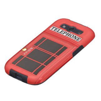 Red Phone Booth Galaxy SIII Case